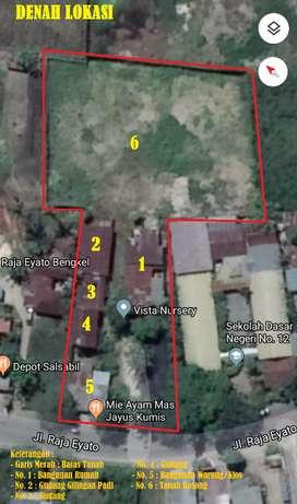 Dijual Tanah Bangunan dan Gudang di Kota Gorontalo