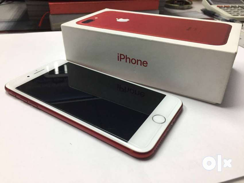apple iphone 7 plus pretty red in excellent condition get it fast 0