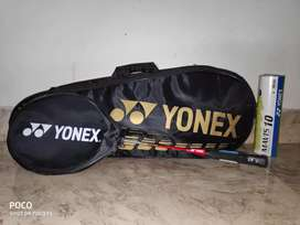 Yonex complete badminton kit unused