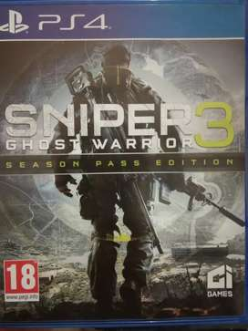 PS4 Sniper 3 second