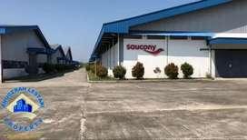 Ex. Pabrik Sepatu di Ciruas, di jalan raya Serang - Tangerang