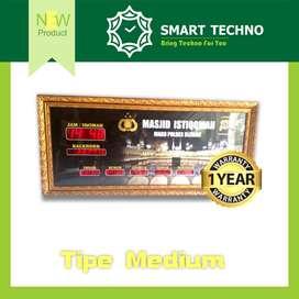 New Product Jam Sholat Masjid Tipe Medium Paling Laris abs+