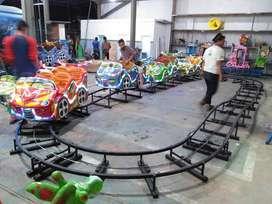 JUAL mainan mini coaster kereta rel bawah odong kelap kelip ready