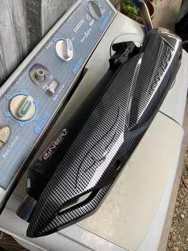 Knalpot pro liner Aerox / lexi dan spion Bar End Karbon