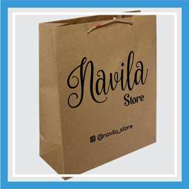 Paper Bag Craft Sablon Paper Bag Craft - Bontang Kota