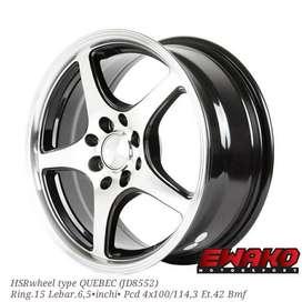 Quebec R15 H8 Bmf - Velg Mobil Racing Hsr Wheel Import (free ongkir)