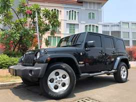 Wrangler 3.6 Sahara 2014 Black 4Doors Km40rb Ori Heater Seat+Leather
