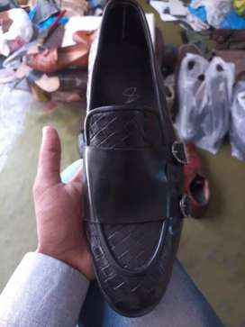 Pure Leather Handmade shoes also available on order