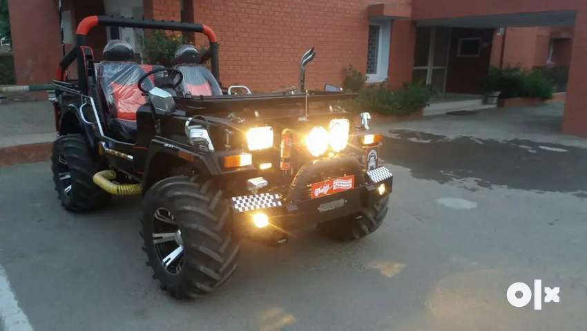 Haryana jeep modified 0