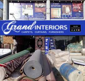 Wallpapers and vinyl flooring by Grand interiors