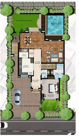 Villas SALE with swimming pool ONLY 20 LAKH LUCKNOW