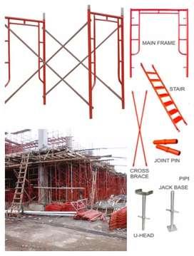 Scaffolding kapolding steger andang galam bambu rental sewa jual 60