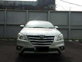 2014 Toyota Kijang Innova 2.5 G Automatic Diesel Silver Terawat