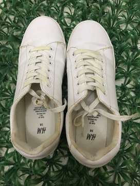 Sneakers H&M White Size 38