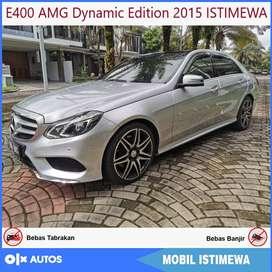 Mercedes Benz E400 AMG Dynamic Edition 2015 ISTIMEWA Bisa Kredit