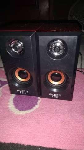 Speaker Aktif Fleco Double Bass