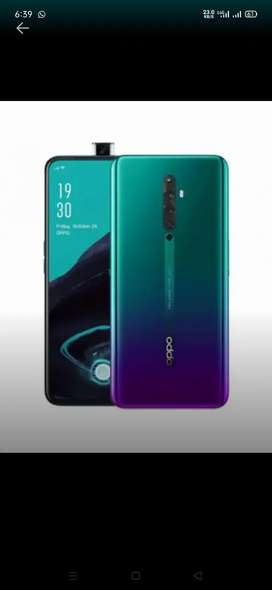Oppo reno 2f complete box new condition