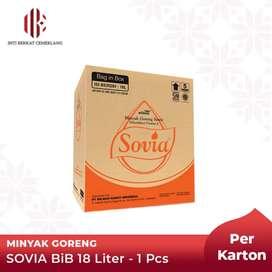 Minyak Goreng BIB Sovia 18 liter