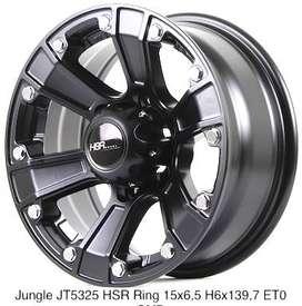 jual velg model pfrud ring 16x9 h6x139,7 free ongkir seluruh indonesia