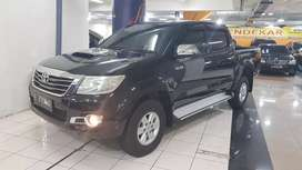 Toyota Hilux Double Cabin 4x4 G manual Tahun 2014