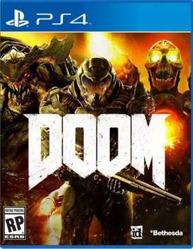 Doom PS4 for sale