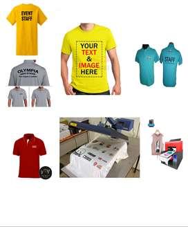 tshirt printing operator