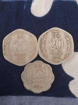 Collection of old coin