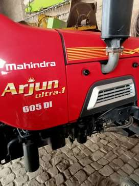 Arjun 605 New tyre 90% all new