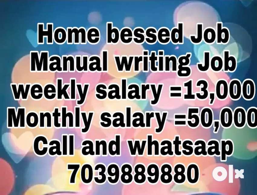 Good hand writing good earning part time job 0