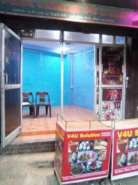 Selling of shop and office at munshipulia churaha Indira nagar Lucknow