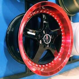 Velg racing jambi untuk mobil ignis, lancer, splash, corolla, vios