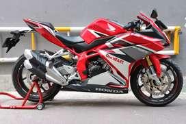 Cbr 250rr 2017 Km 1900 Asli Honda Cbr 250 rr Cbr250 Racing Red Non Abs