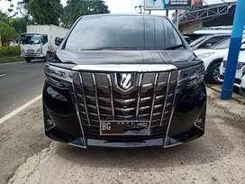 toyota alphard 2018 g atpm automatic new model facelift black on beige