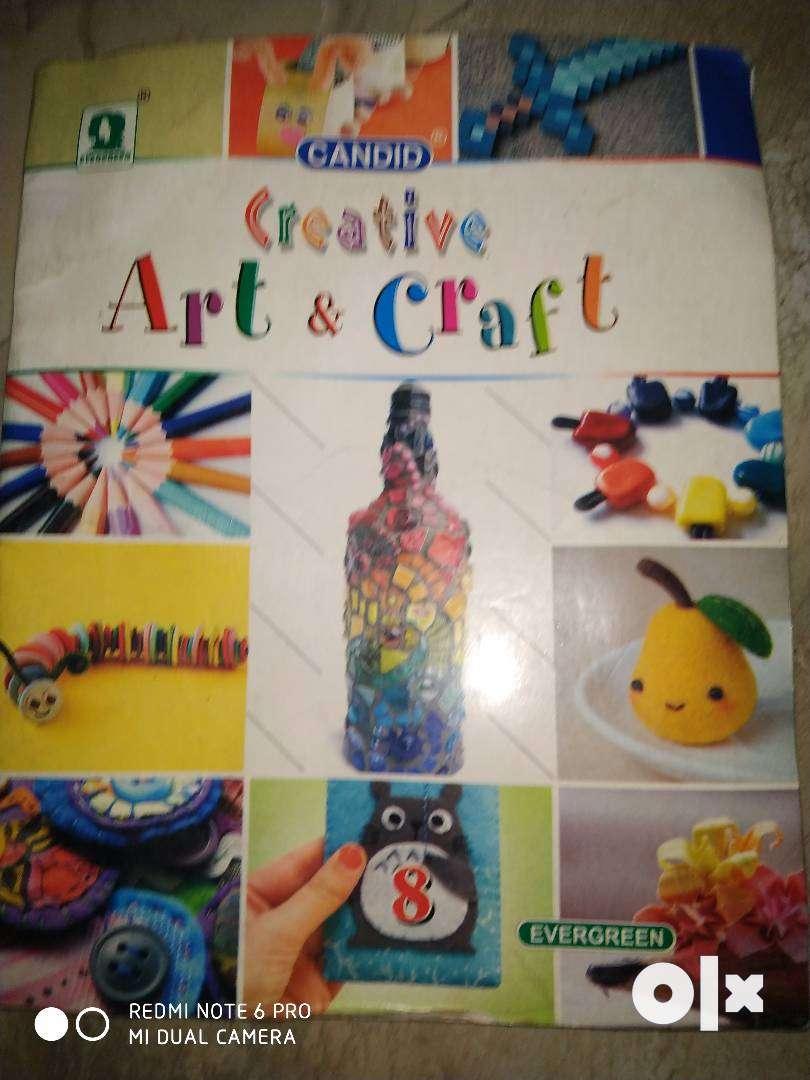 Candid creative art and craft 0