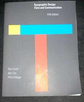 Buku Typographic Design: Form and Communication 5th Edition