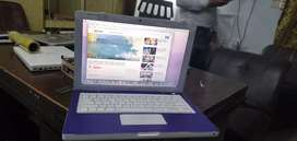 Purple Laptop Apple macbook in Colourful touch
