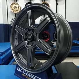Velg Mobil Racing Ring 17 Evalia Cefiro HSR MINAS R17x7 Pcd 8x100-1143