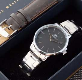 Daniel Wellington Iconic Stainless Strap Watch