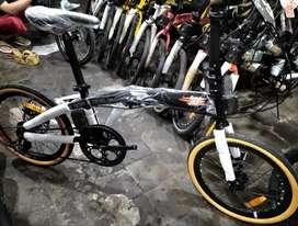 Sepedah lipat polis milan rans size 20