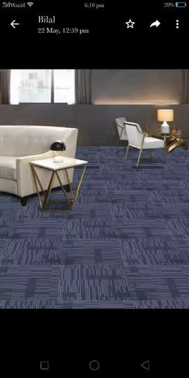 Imported Carpet Tiles Available in New Design and Colours