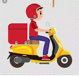 Delivery boy or supervisor for e commerce company