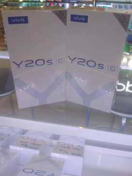 Vivo Y20sG 4/128GB Gameing Processor Garansi Resmi