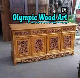 Bufet Palembang 150cm Furniture Jepara