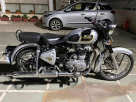 Classic 500 CC.Silver Colour.Almost brand new.Scrathless.