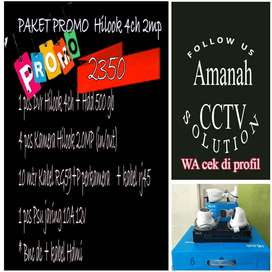 PAKET 4 HILOOK KAMERA CCTV FULL HD