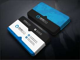 Business / Visiting card design for just ₹150!