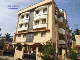 7 years old East Facing-2 BHK flat for sale in vadavalli ,vo nagar