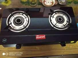 Unused Fab surya gas stove