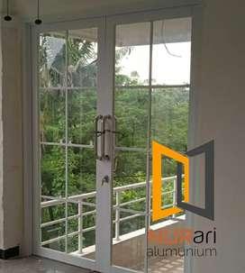 kusen aluminium jendela, pintu