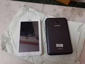 Samsung calling tab in excellent condition with all accessories warran